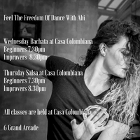 Bachata & Salsa with Feel The Freedom Of Dance - Casa Colombiana