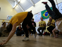 Capoeira Angola at Fitness First, Brighton